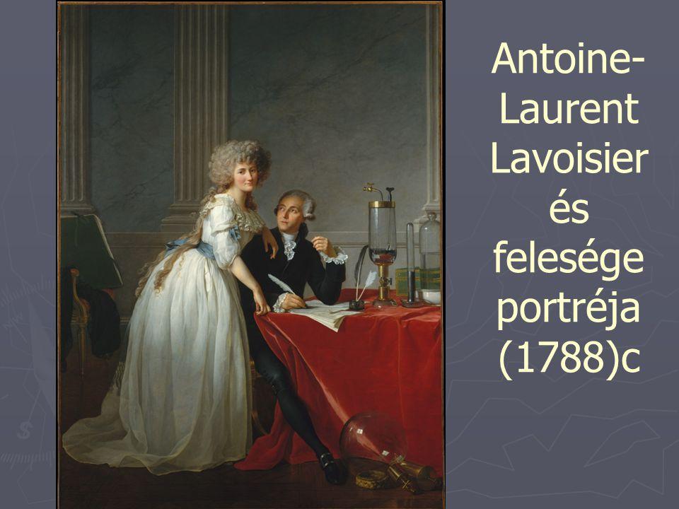 Antoine-Laurent Lavoisier és felesége portréja (1788)c