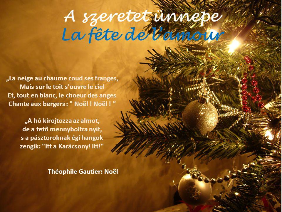 A szeretet ünnepe La fête de l'amour