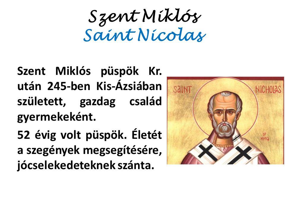 Szent Miklós Saint Nicolas
