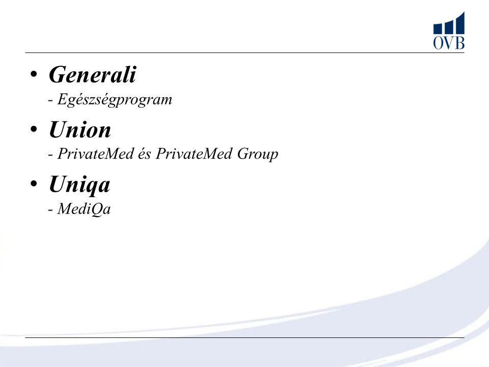 Generali - Egészségprogram