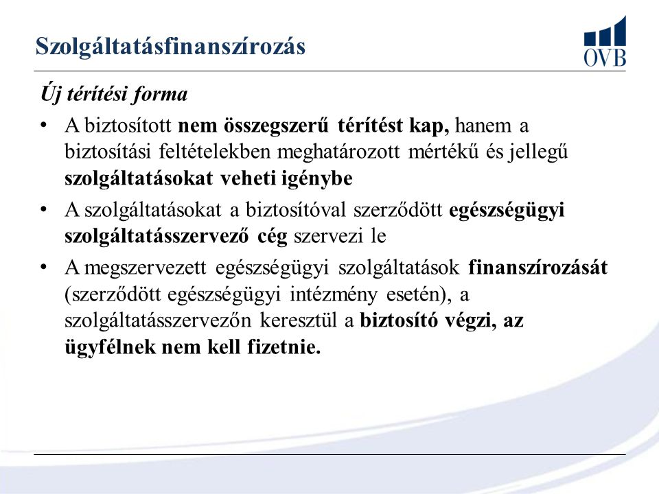 Szolgáltatásfinanszírozás