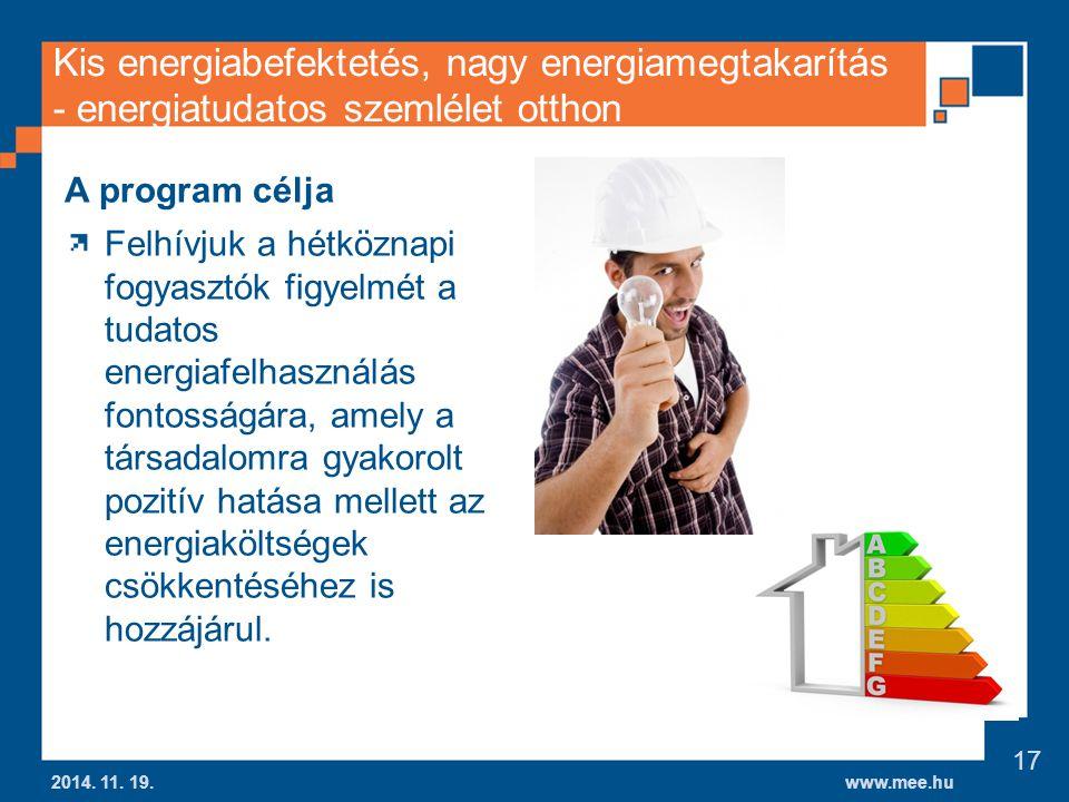 Kis energiabefektetés, nagy energiamegtakarítás - energiatudatos szemlélet otthon