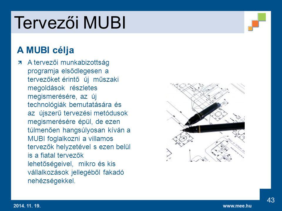 Tervezői MUBI A MUBI célja