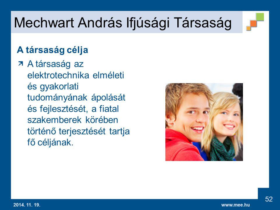 Mechwart András Ifjúsági Társaság