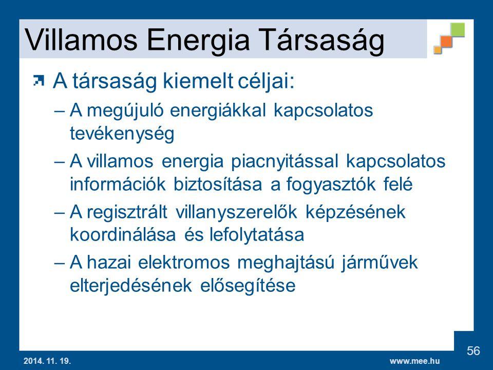 Villamos Energia Társaság