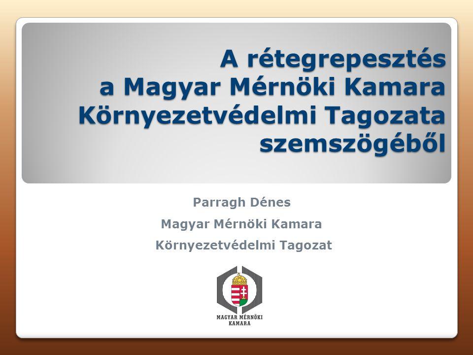 Parragh Dénes Magyar Mérnöki Kamara Környezetvédelmi Tagozat