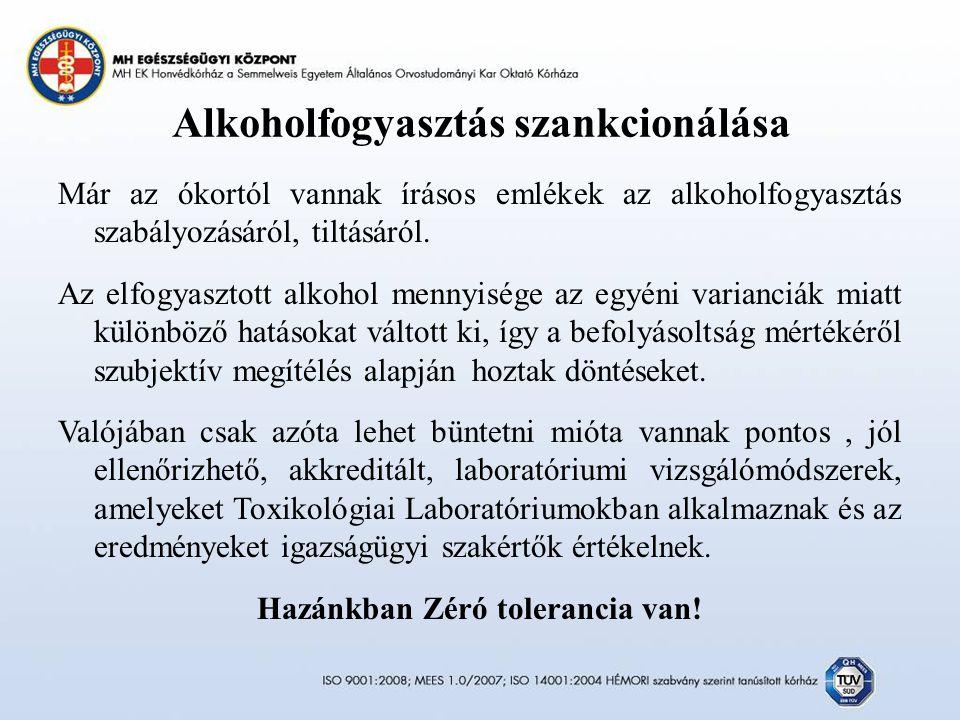 Alkoholfogyasztás szankcionálása
