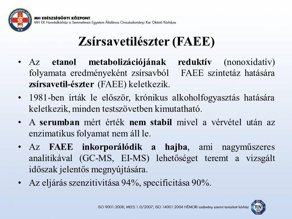 Zsírsavetilészter (FAEE)