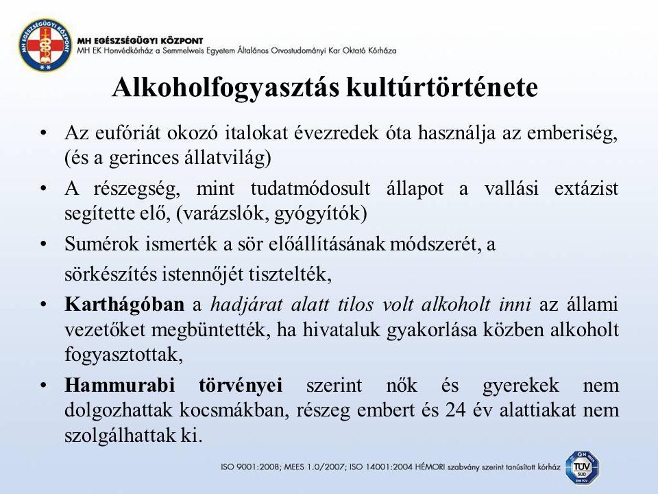 Alkoholfogyasztás kultúrtörténete