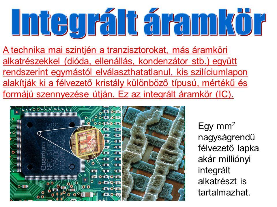 Integrált áramkör