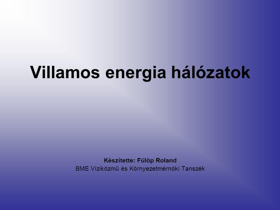 Villamos energia hálózatok
