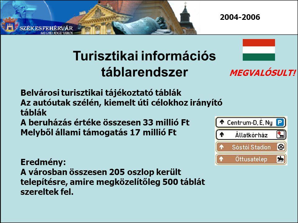 Turisztikai információs táblarendszer