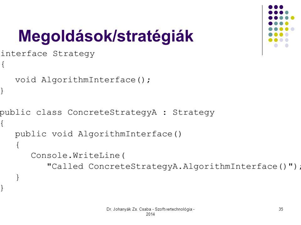 Megoldások/stratégiák
