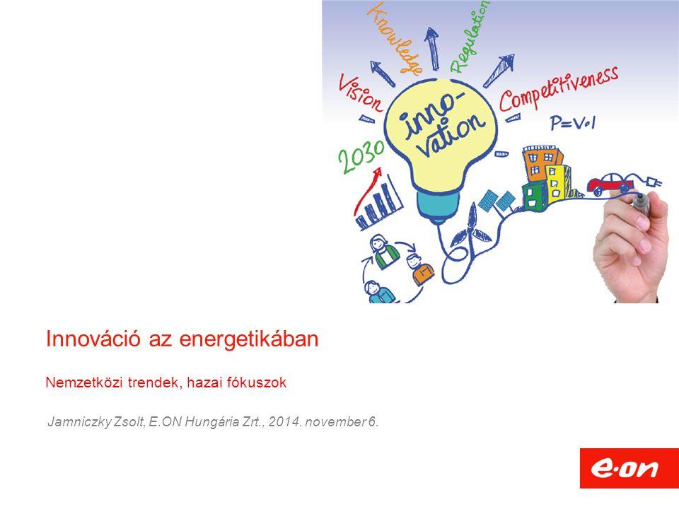 Innováció az energetikában