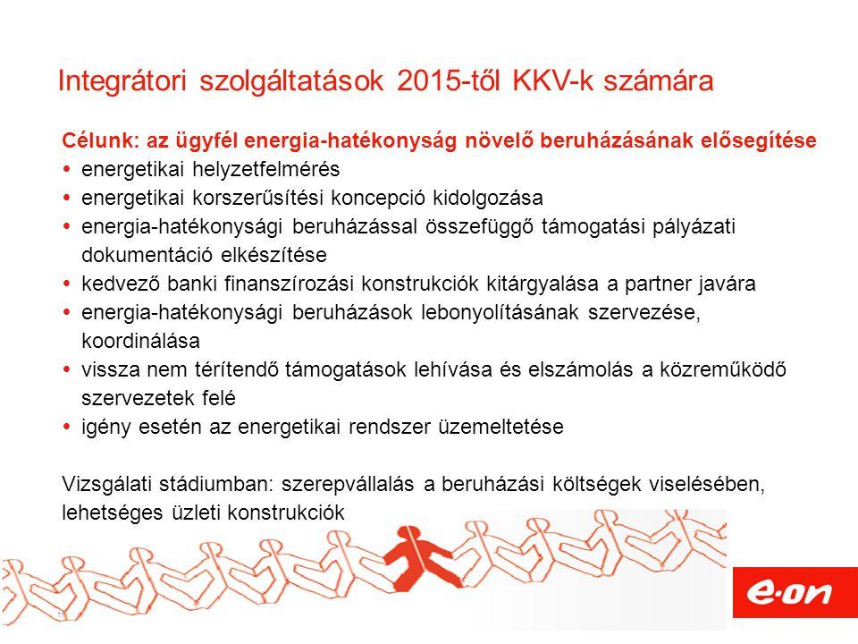 Integrátori szolgáltatások 2015-től KKV-k számára