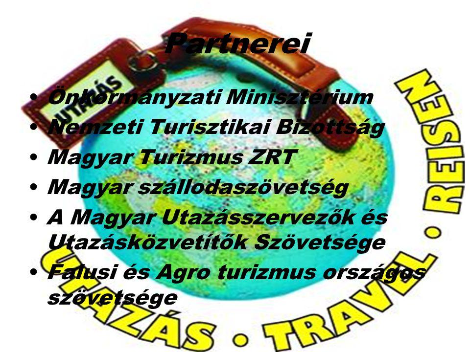 Partnerei Önkormányzati Minisztérium Nemzeti Turisztikai Bizottság