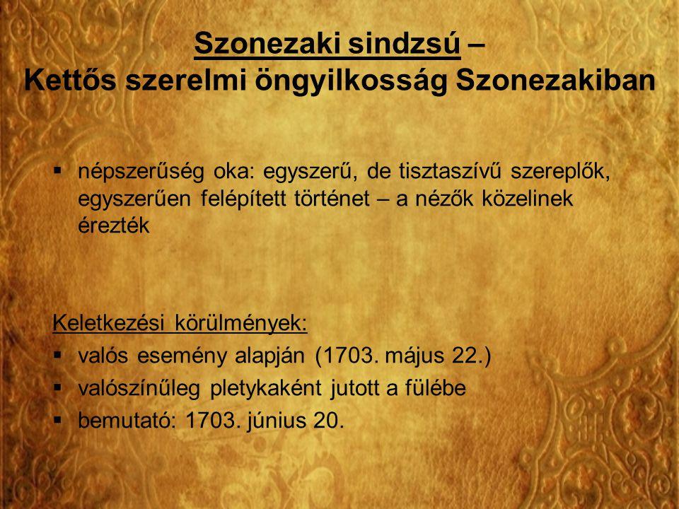 Szonezaki sindzsú – Kettős szerelmi öngyilkosság Szonezakiban