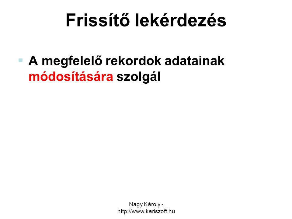 Nagy Károly - http://www.kariszoft.hu