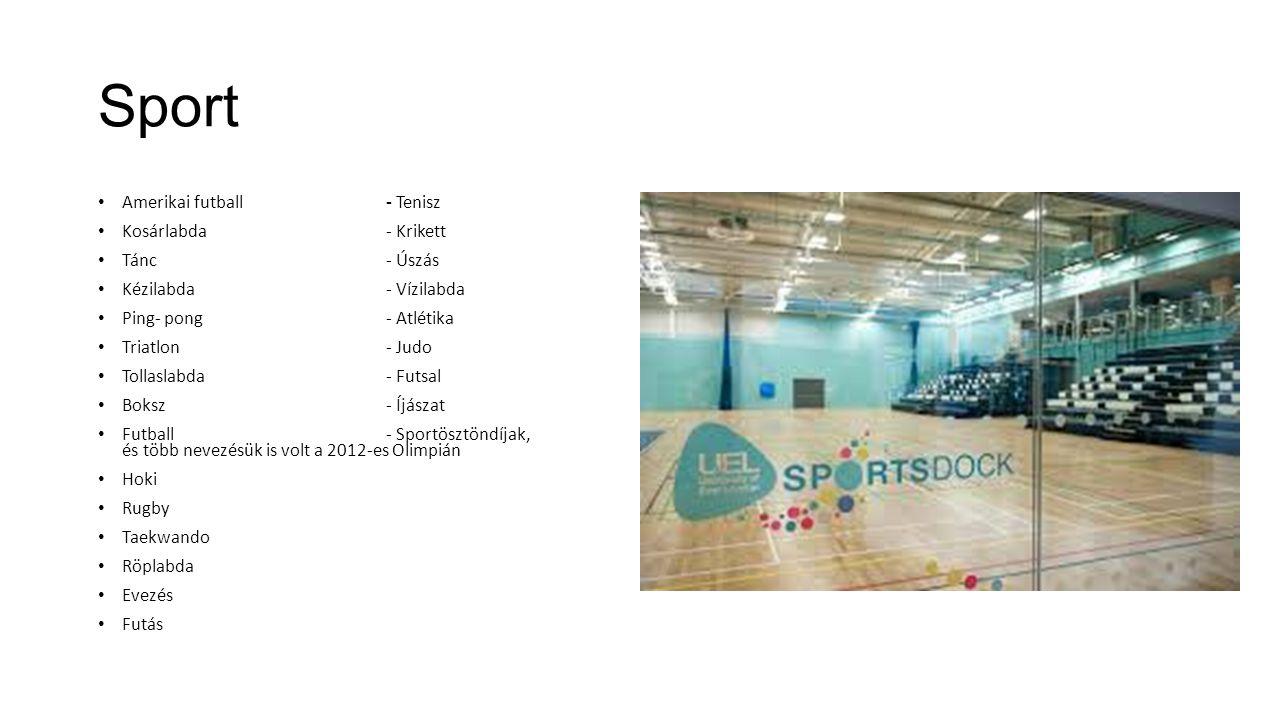 Sport Amerikai futball - Tenisz Kosárlabda - Krikett Tánc - Úszás