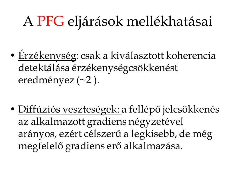 A PFG eljárások mellékhatásai