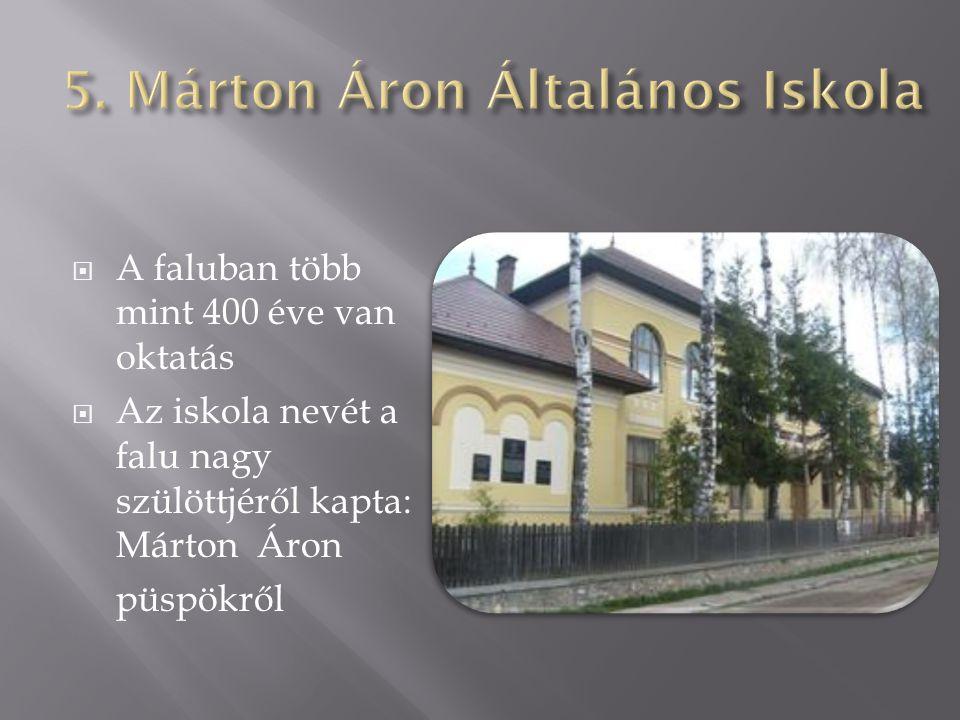 5. Márton Áron Általános Iskola