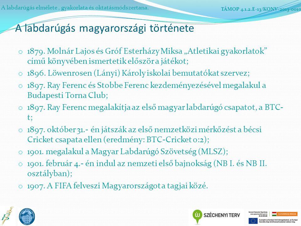 A labdarúgás magyarországi története