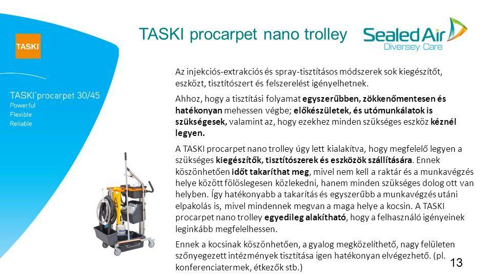 TASKI procarpet nano trolley