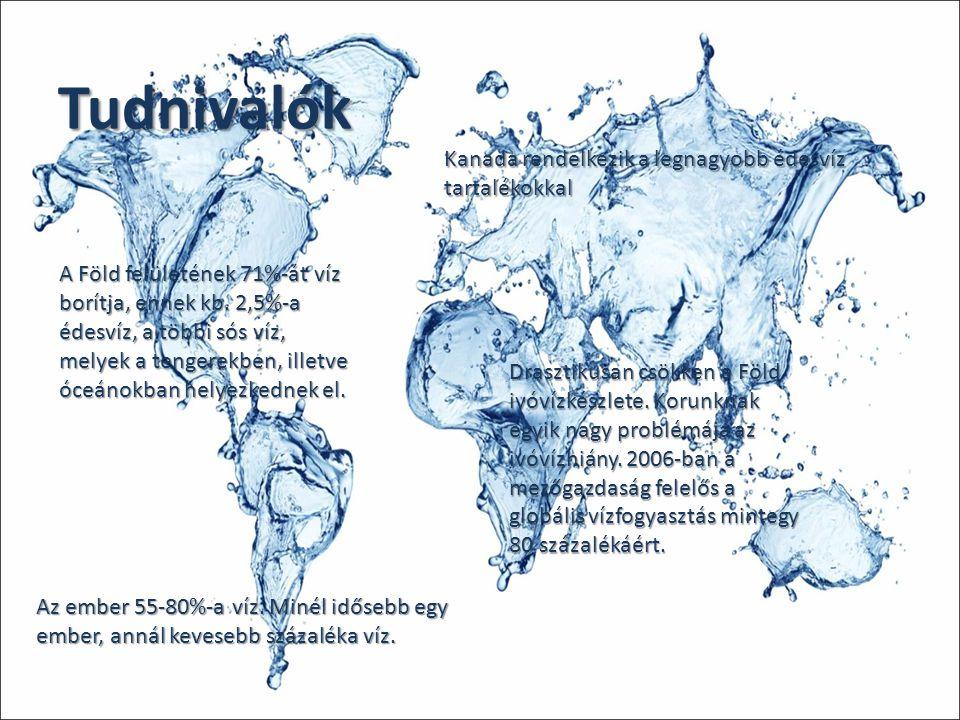 Tudnivalók Kanada rendelkezik a legnagyobb édesvíz tartalékokkal