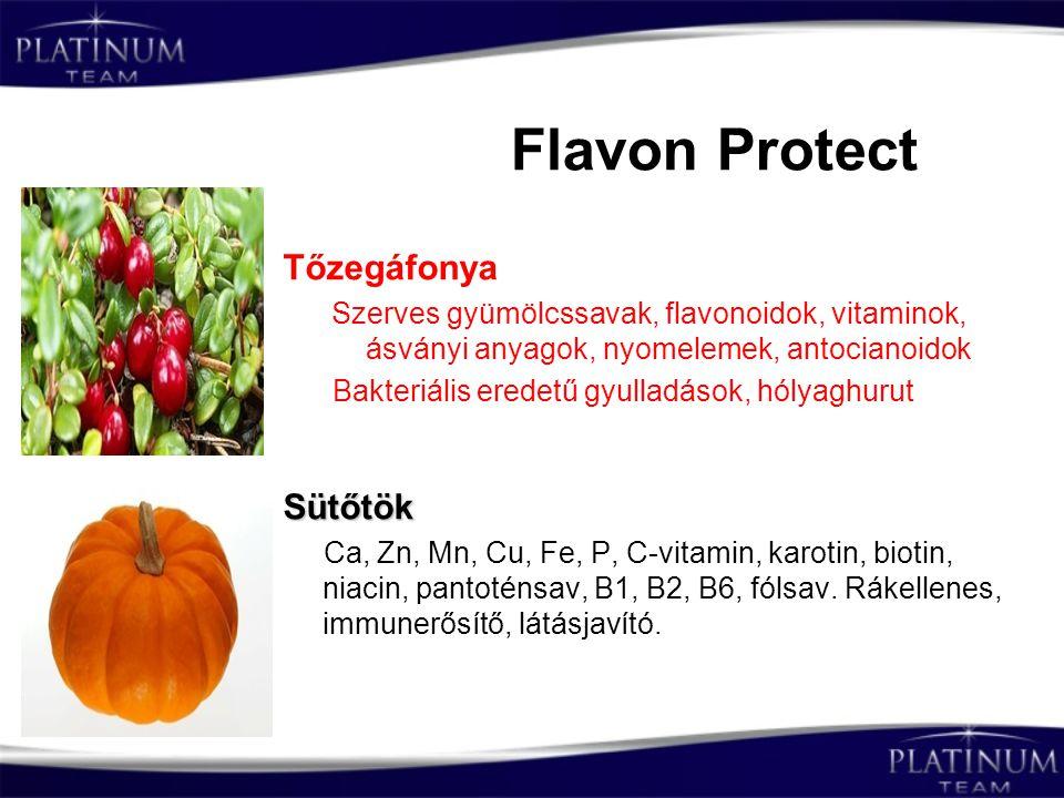 Flavon Protect Tőzegáfonya Sütőtök