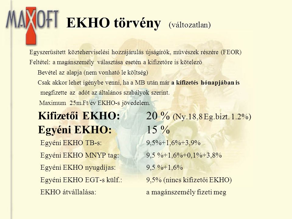 EKHO törvény (változatlan)