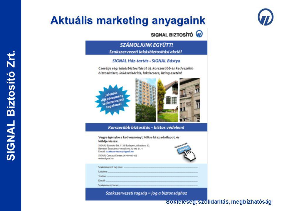 Aktuális marketing anyagaink