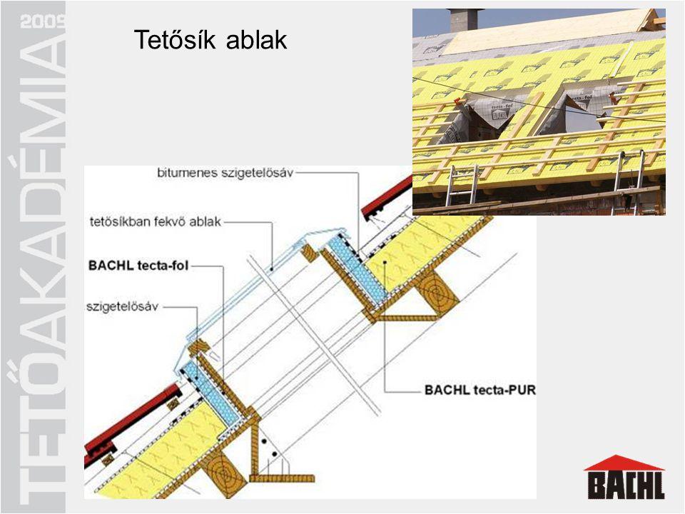 Energiatakarékos tetőszerkezet
