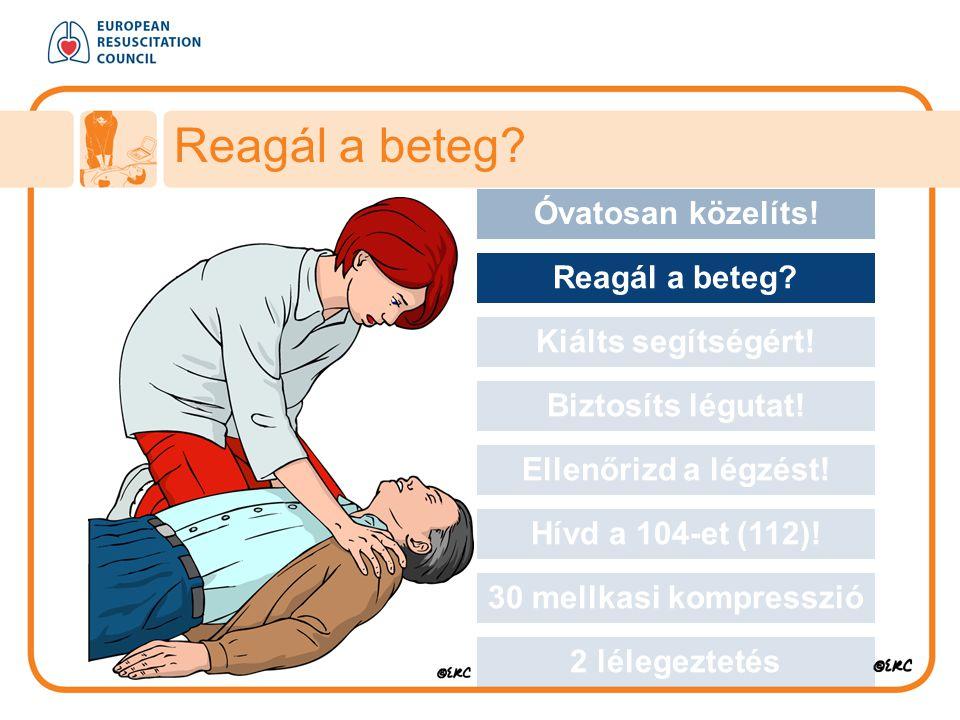 Reagál a beteg Óvatosan közelíts! Approach safely Reagál a beteg
