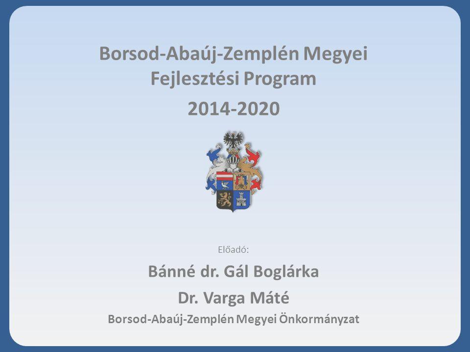 Borsod-Abaúj-Zemplén Megyei Fejlesztési Program 2014-2020