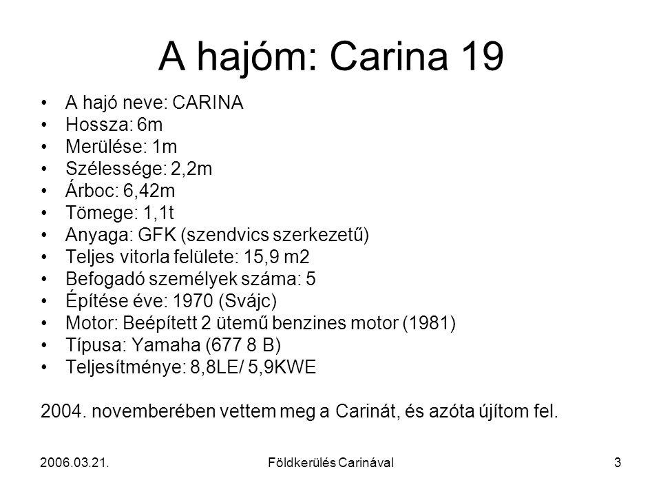 Földkerülés Carinával