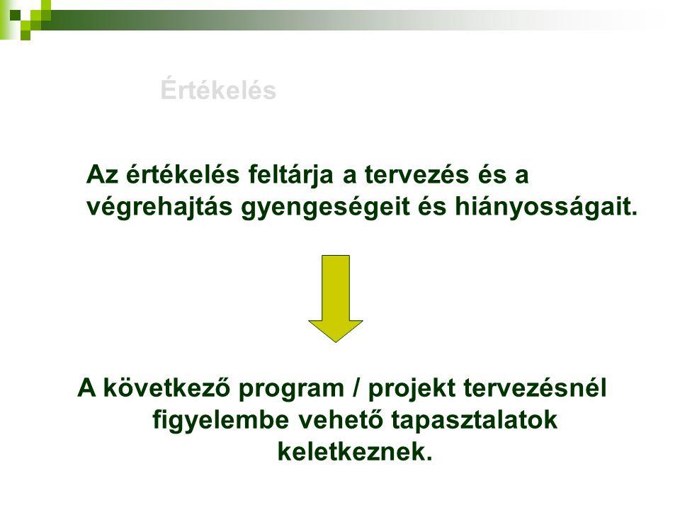 A projekt zárása, ellenőrzése, értékelése az Irányító Hatóság szemszögéből