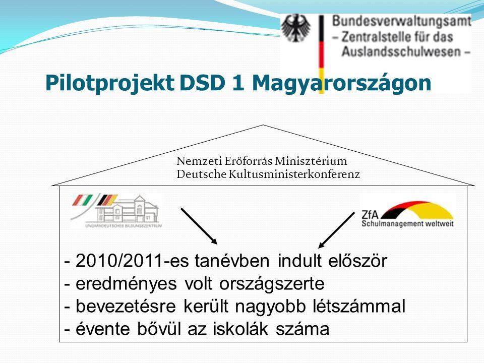 Pilotprojekt DSD 1 Magyarországon