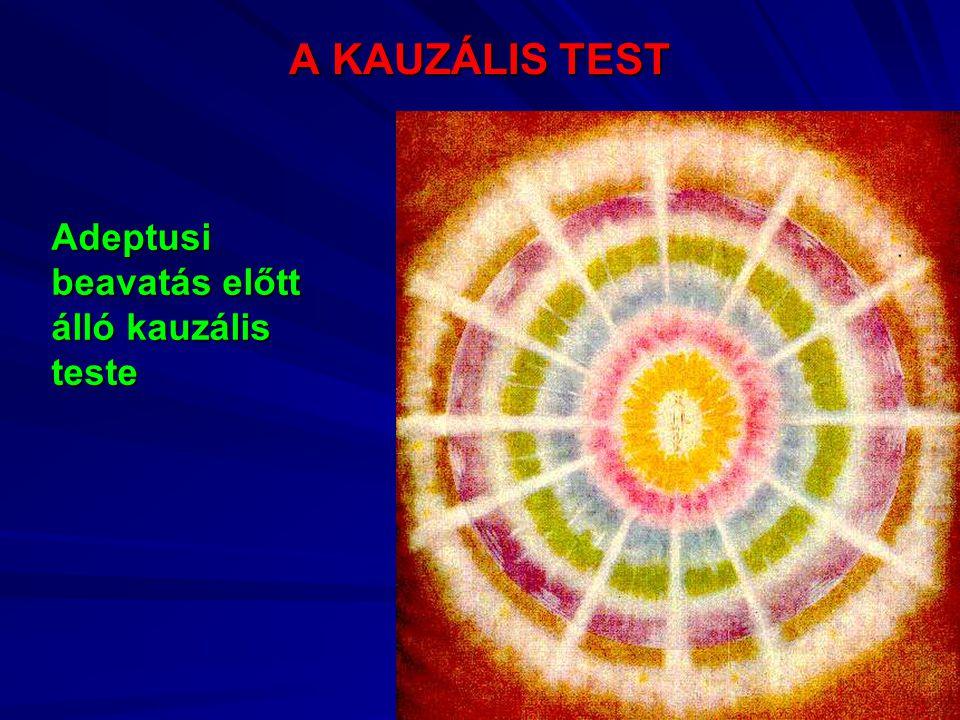A KAUZÁLIS TEST Adeptusi beavatás előtt álló kauzális teste