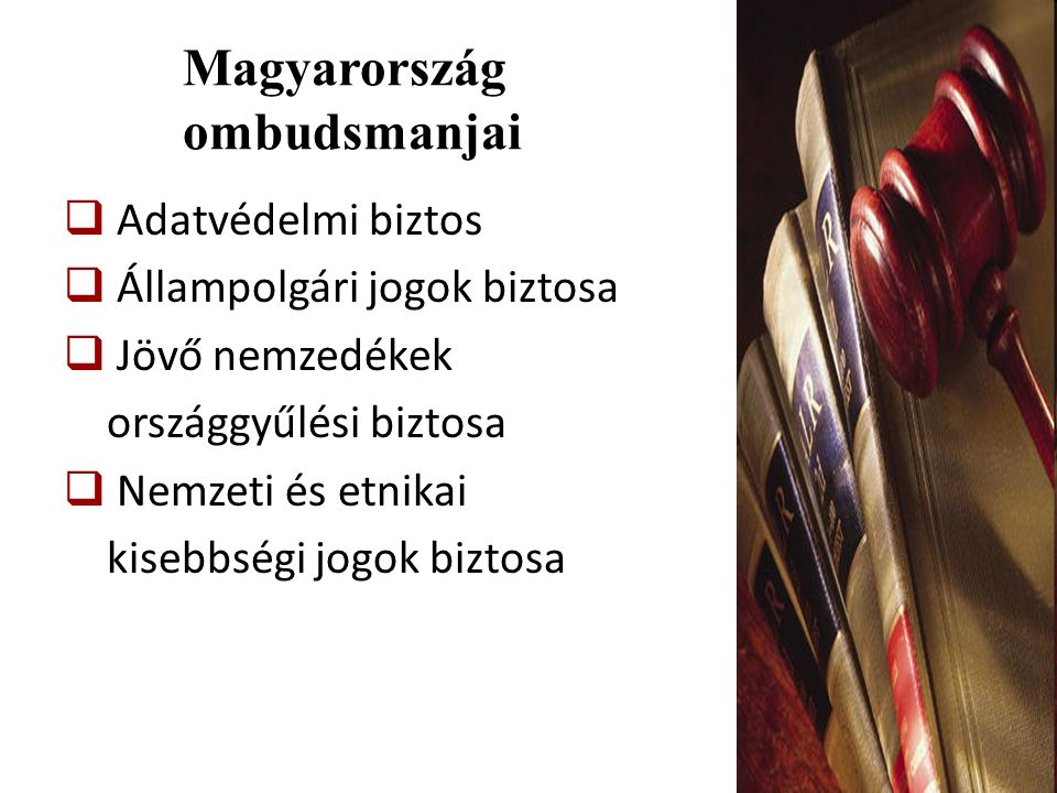Magyarország ombudsmanjai