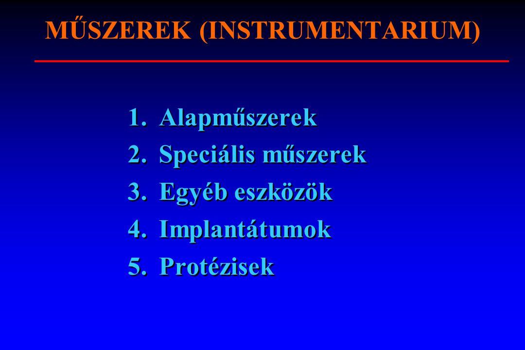 MŰSZEREK (INSTRUMENTARIUM)