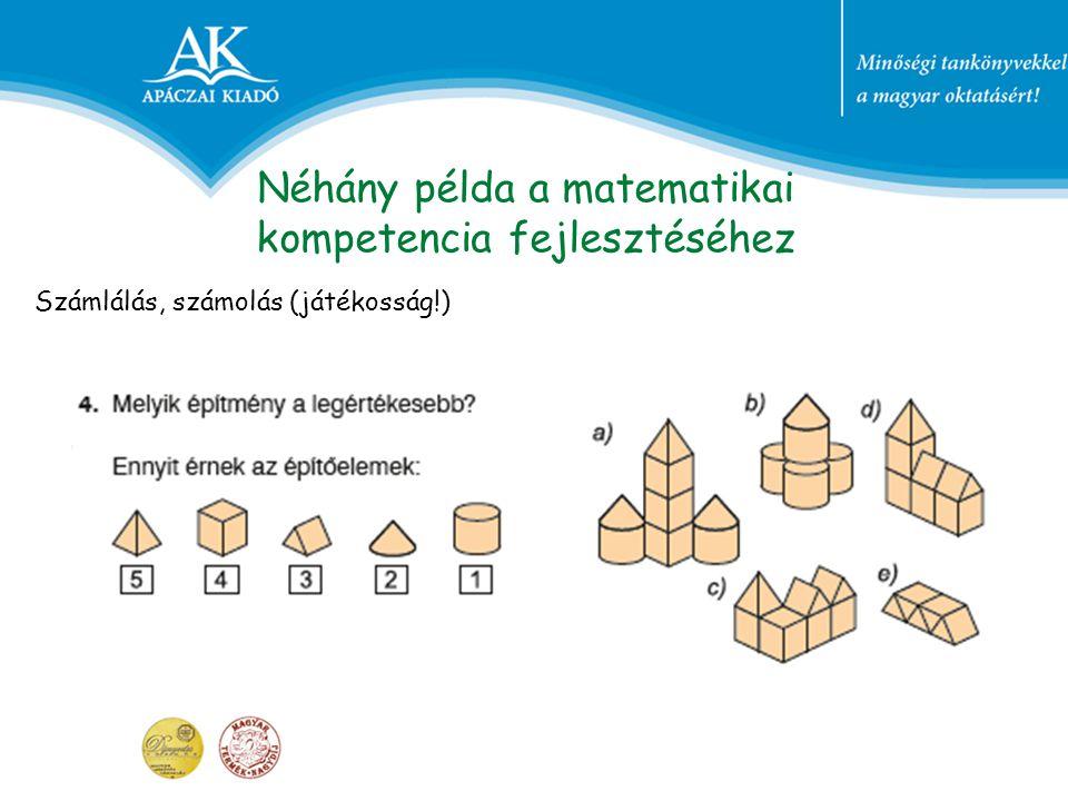 Néhány példa a matematikai kompetencia fejlesztéséhez