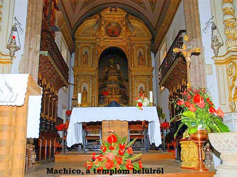 Machico, a templom belülről