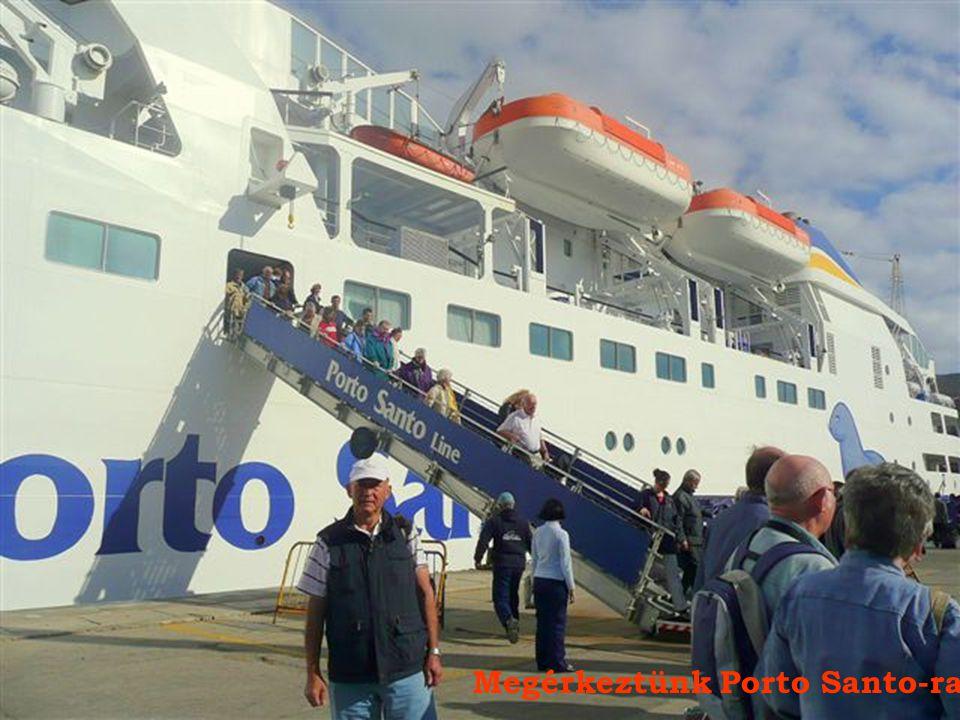 Megérkeztünk Porto Santo-ra
