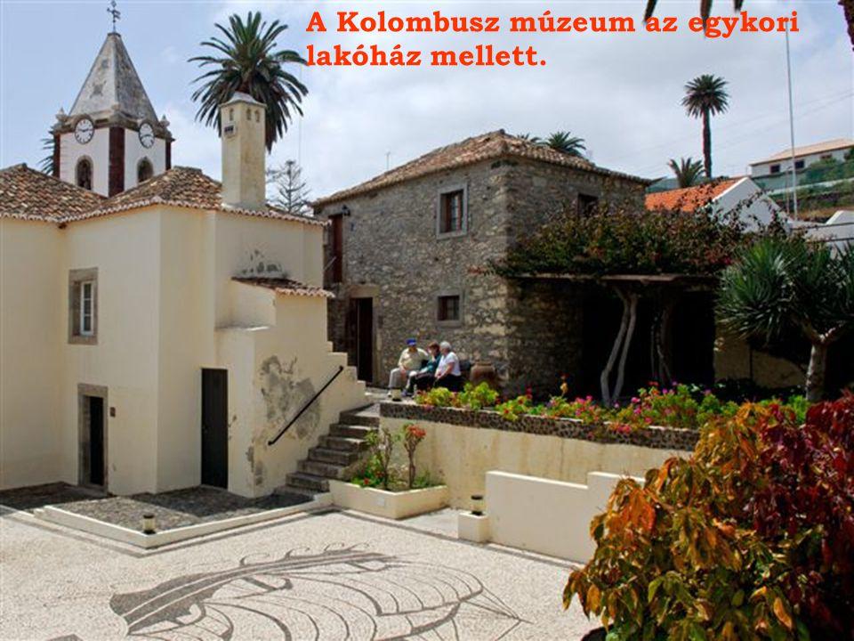 A Kolombusz múzeum az egykori