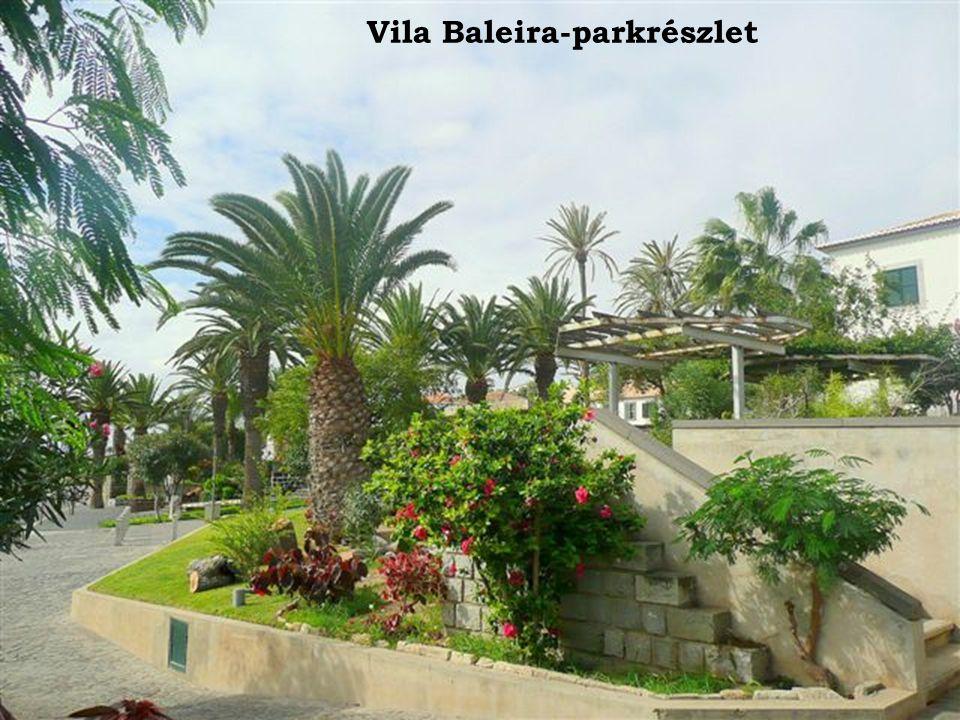 Vila Baleira-parkrészlet