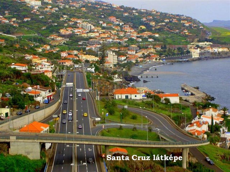 Santa Cruz látképe
