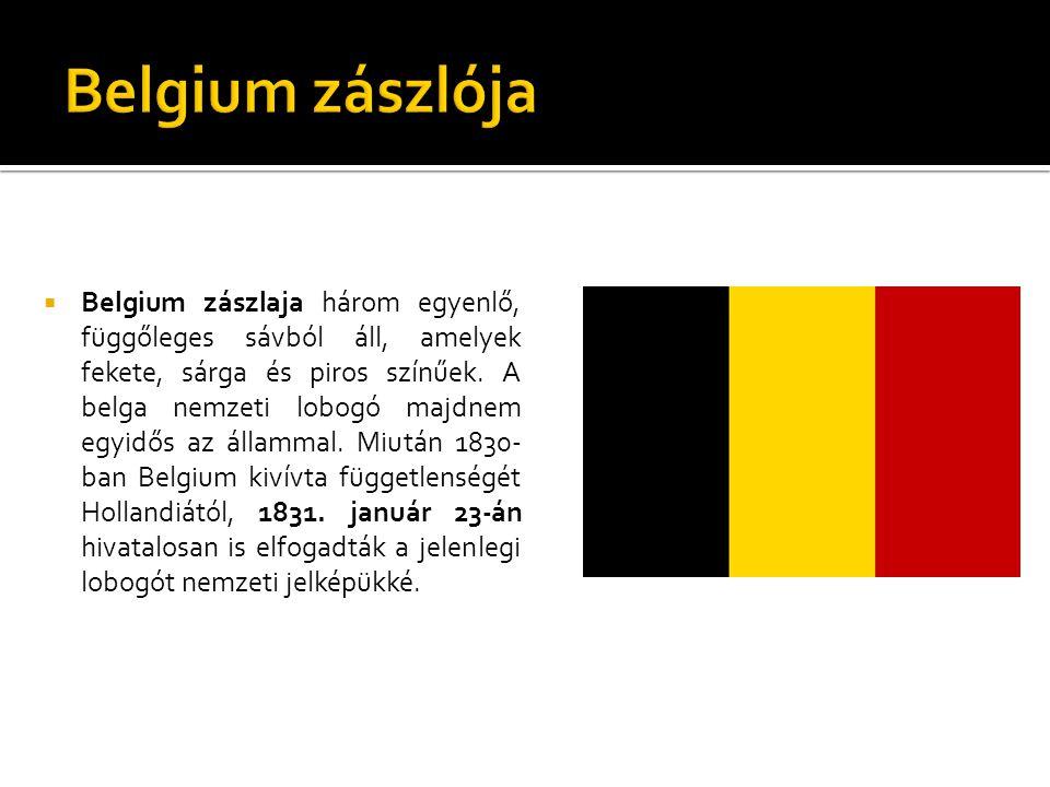 Belgium zászlója