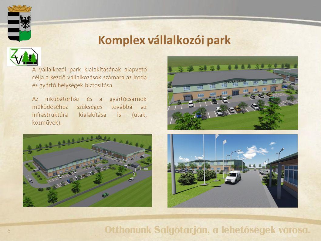 Komplex vállalkozói park