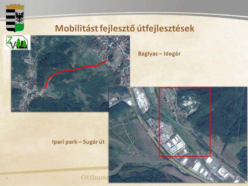 Mobilitást fejlesztő útfejlesztések
