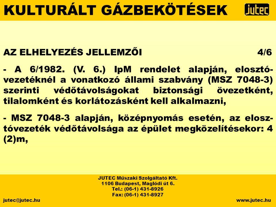 JUTEC Műszaki Szolgáltató Kft.